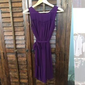 Loft chiffon dress